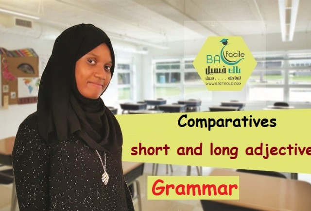 Comparatives : short and long adjectives