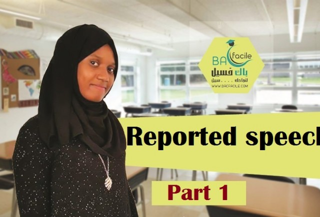 ( Reported speech ( part 1