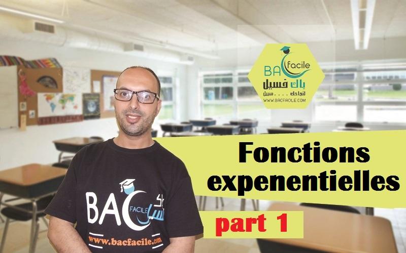 — les fonctions exponentielles — part 1