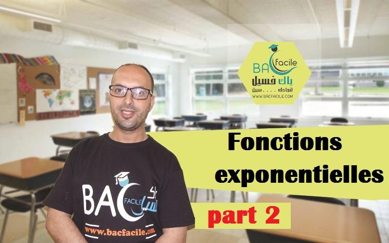 — les fonctions exponentielles — part 2