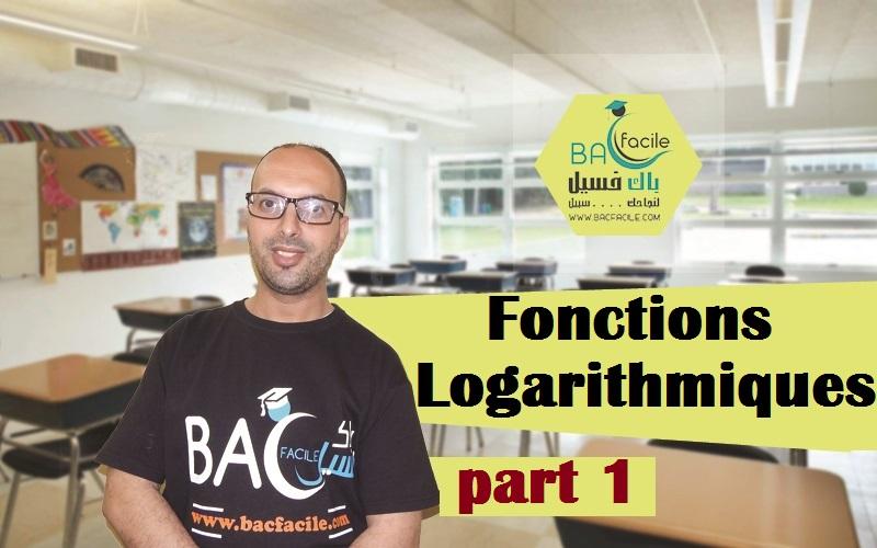 –les fonctions logarithmiques — part 1