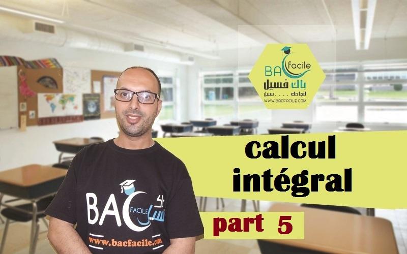 calcul intégral ( calcul d'aires ) — part 5
