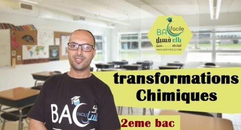 transformations chimiques s'effectuant dans les deux sens